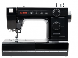 Janome Industrial-Grade Aluminum-Body HD1000 Black Edition Sewing Machine