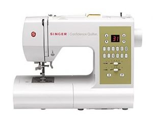 SINGER Confidence 7469Q Computerized & Quilting Sewing Machine with Built-In Needle Threader, 98 Built-In Stitches - Sewing Made Easy