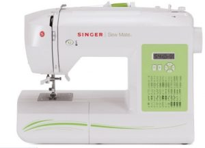 SINGER Sew Mate 5400 Handy Sewing Machine Including 60 Built-in Stitches, 4 Fully Built-in 1-Step Buttonhole, Automatic Needle Threader & Automatic...