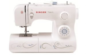 SINGER Talent 3323 Portable Sewing Machine including 23 Built-In Stitches, Automatic Needle Threader, Top Drop-in Bobbin and Bonus Fashion Accessories